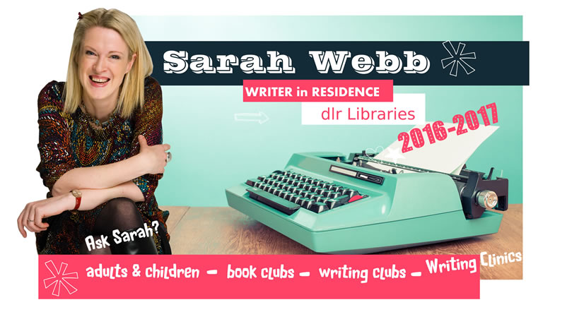Sarah Webb- dlr Writer in Residence 2016-2017
