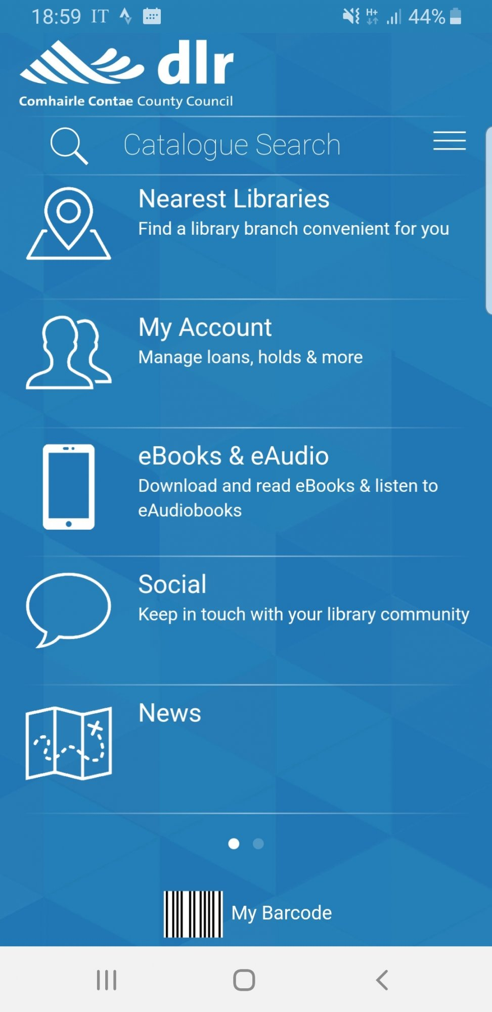 dlr Libraries new Android app | dlr LIBRARIES