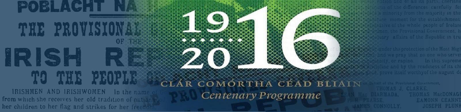 1916 Centenary Programme