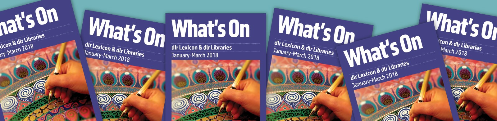 dlr Libraries What's On for January to March 2018
