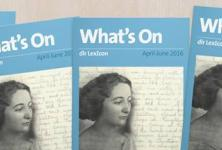 What's On April-June 2016