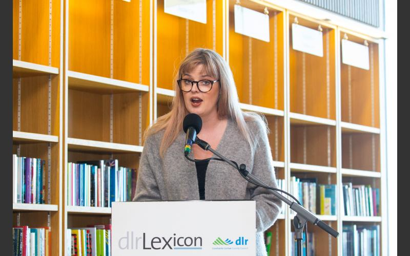 dlr Writer in residence 2018-2019, Sarah Maria Griffin , People on the Pier launch