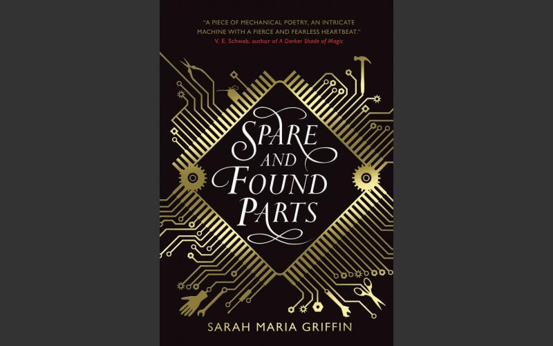 dlr Writer in residence 2018-2019, Sarah Maria Griffin, 2nd novel, Spare and Found Parts