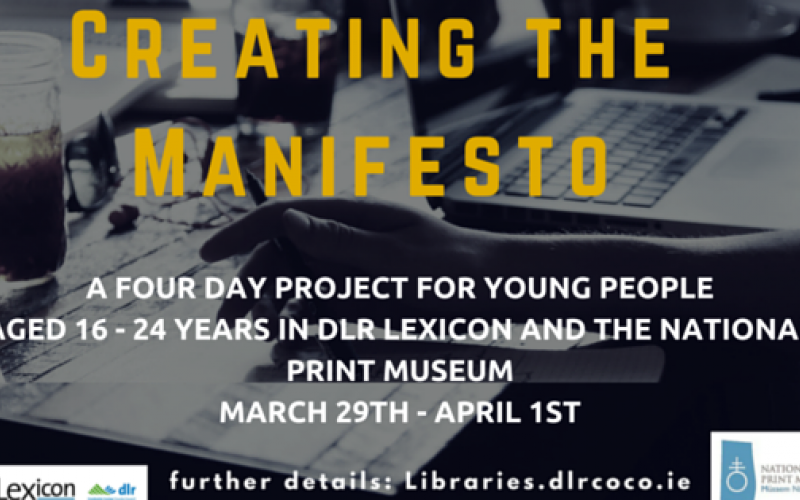 Creating the Manifesto project poster